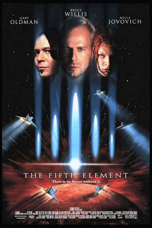 FIFTH ELEMENT, THE (The Fifth Element @ FilmPosters.com