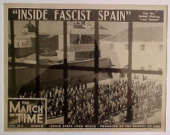 INSIDE FASCIST SPAIN. MARCH OF TIME: NEWSREEL @ FilmPosters.com