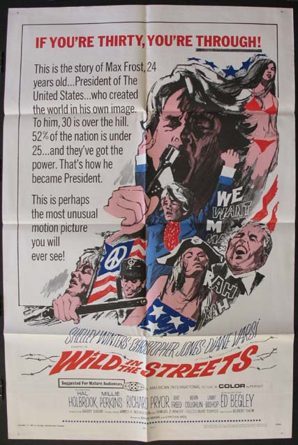 WILD IN THE STREETS @ FilmPosters.com