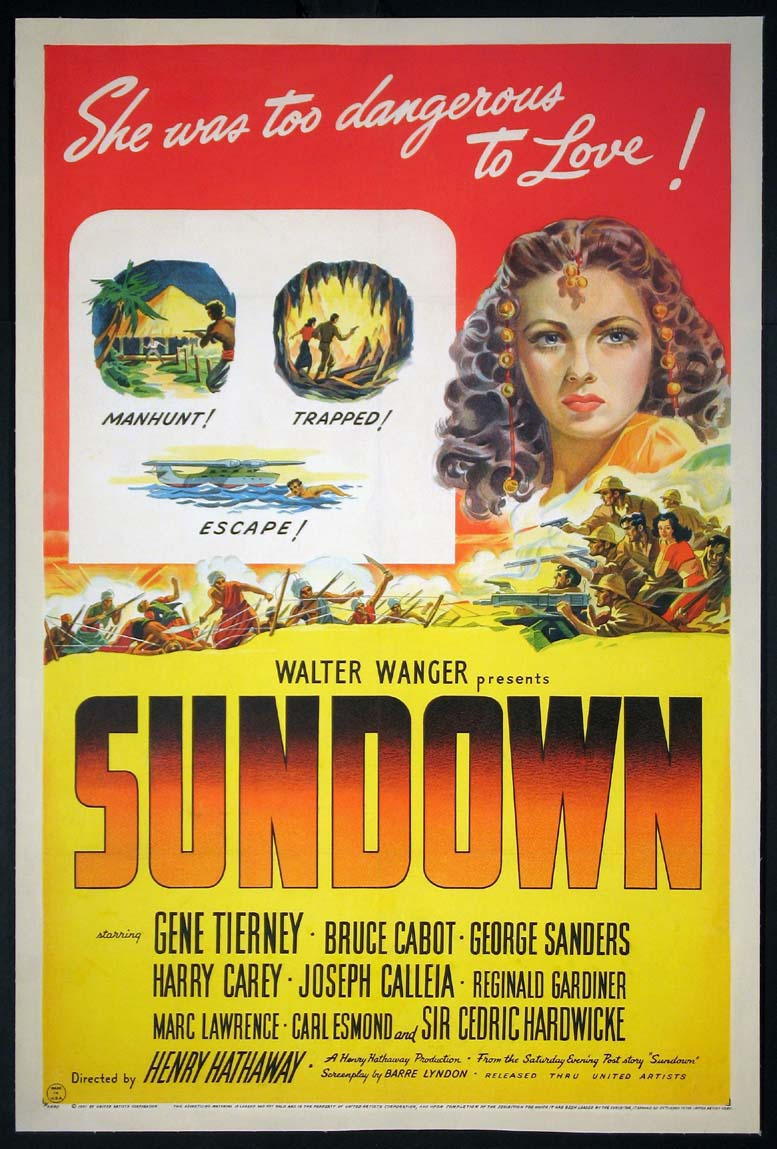 SUNDOWN @ FilmPosters.com