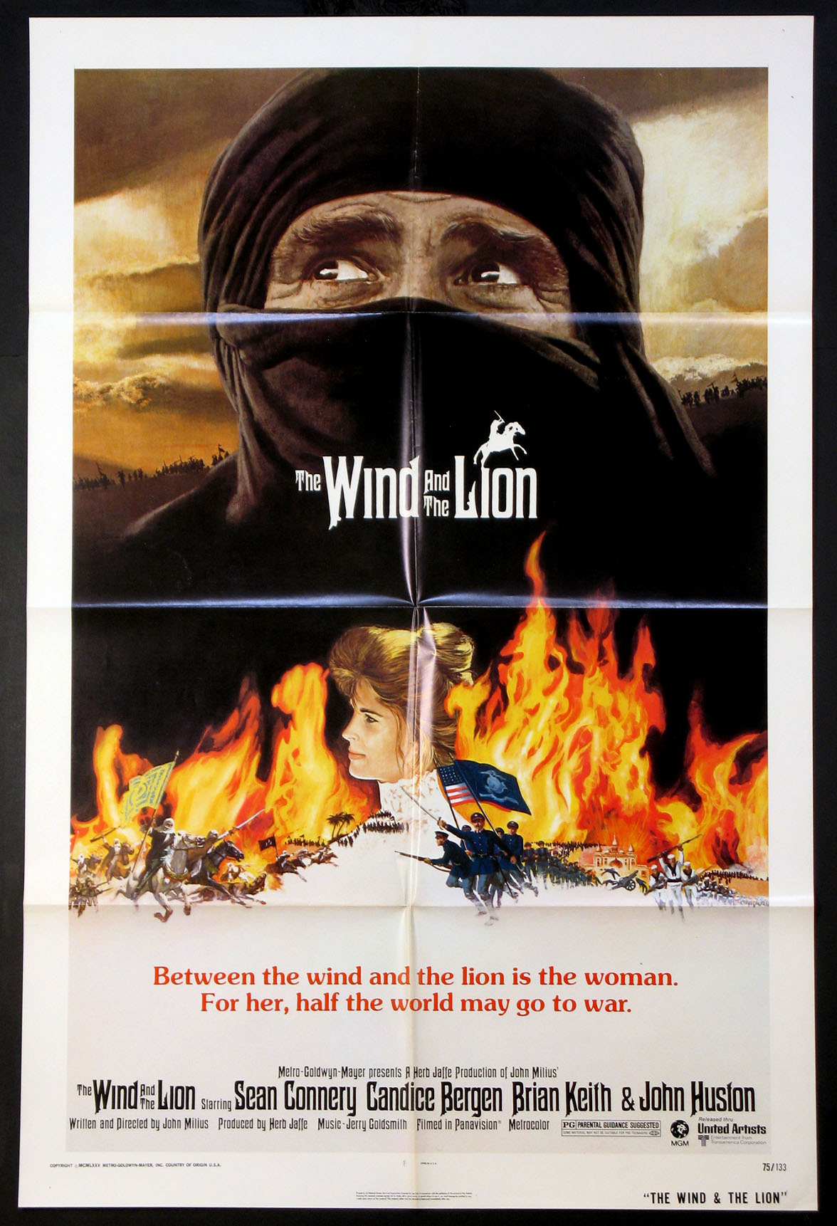 WIND AND THE LION, THE @ FilmPosters.com