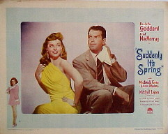 SUDDENLY, IT'S SPRING @ FilmPosters.com