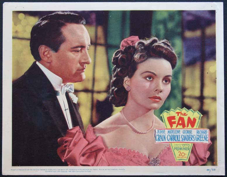 FAN, THE @ FilmPosters.com