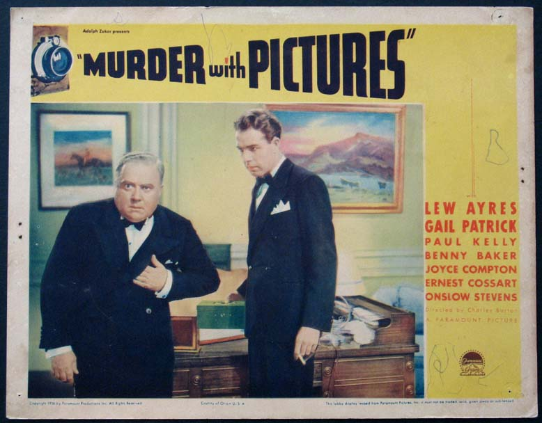 MURDER WITH PICTURES @ FilmPosters.com