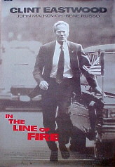 IN THE LINE OF FIRE @ FilmPosters.com