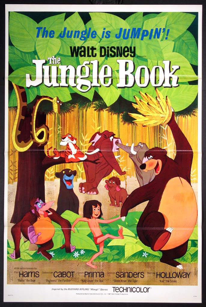 JUNGLE BOOK @ FilmPosters.com