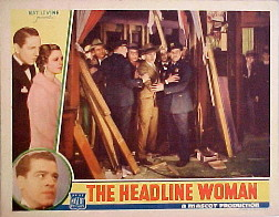 HEADLINE WOMAN, THE @ FilmPosters.com