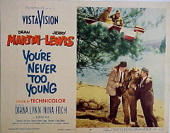 YOU'RE NEVER TOO YOUNG @ FilmPosters.com