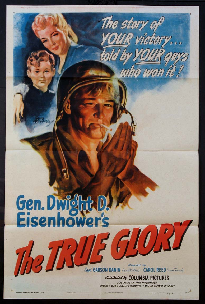 TRUE GLORY (Gen. Dwight D. Eisenhower's) @ FilmPosters.com