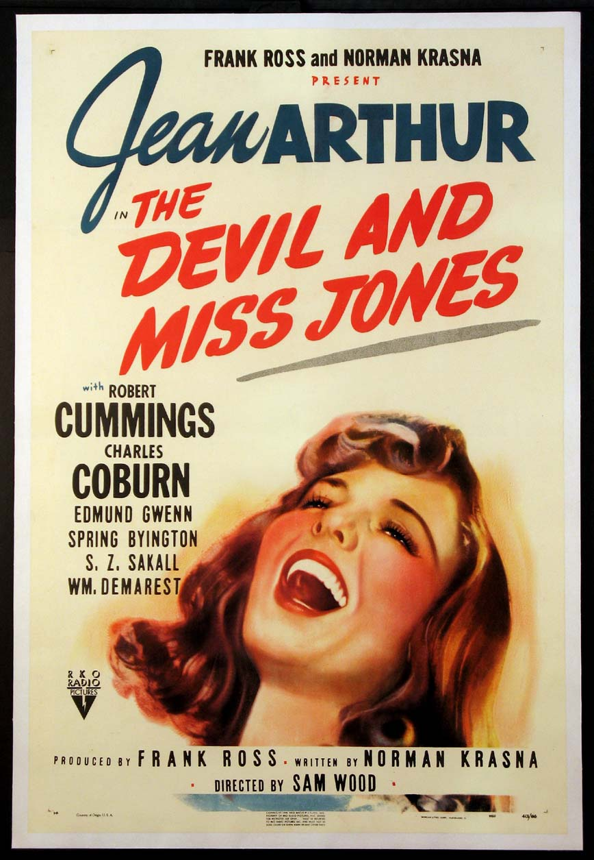 DEVIL AND MISS JONES @ FilmPosters.com