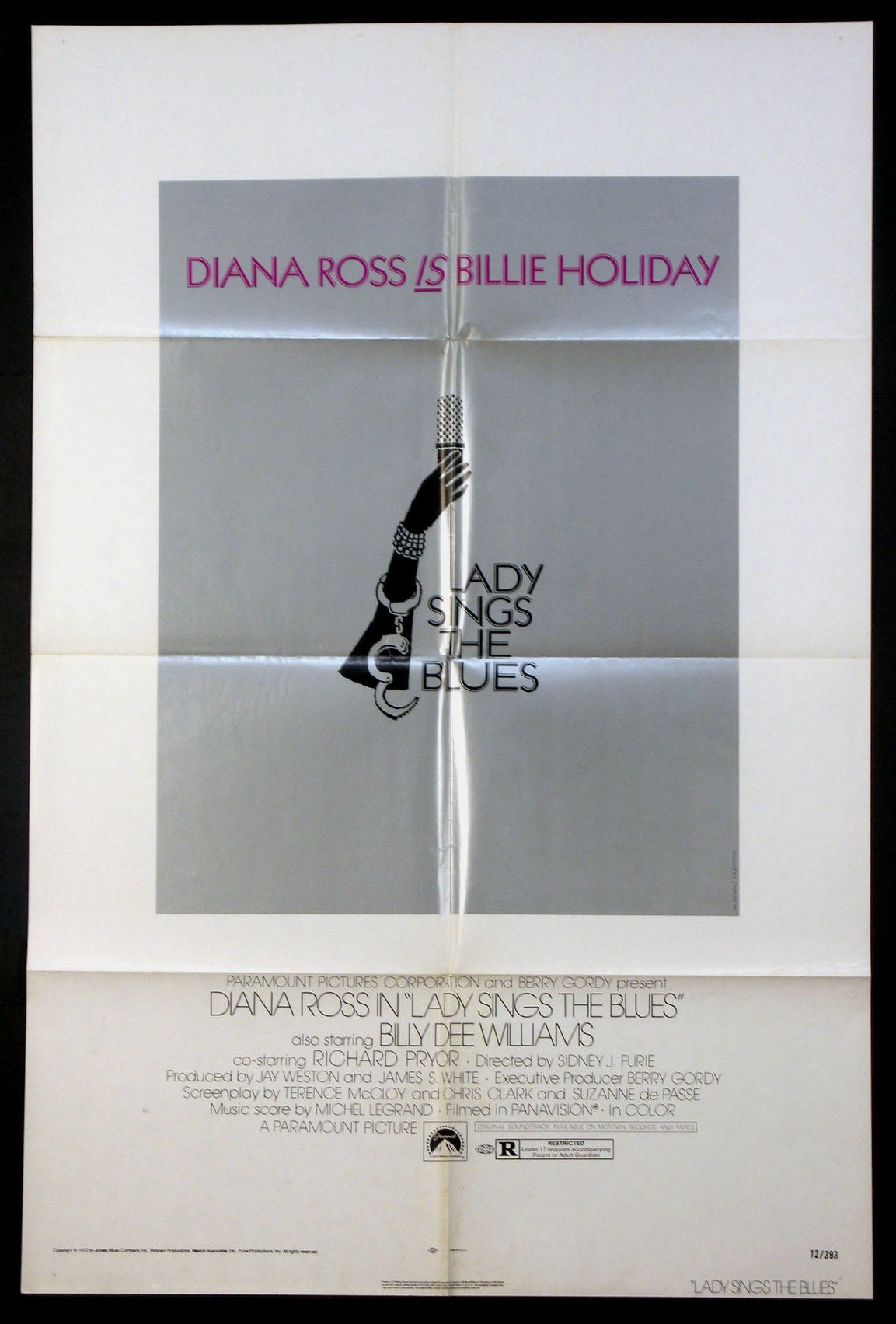 LADY SINGS THE BLUES @ FilmPosters.com