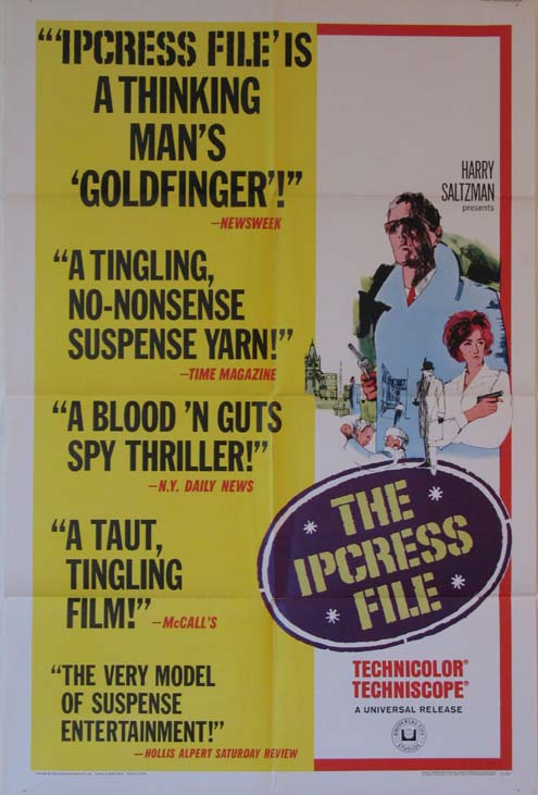 IPCRESS FILE, THE @ FilmPosters.com