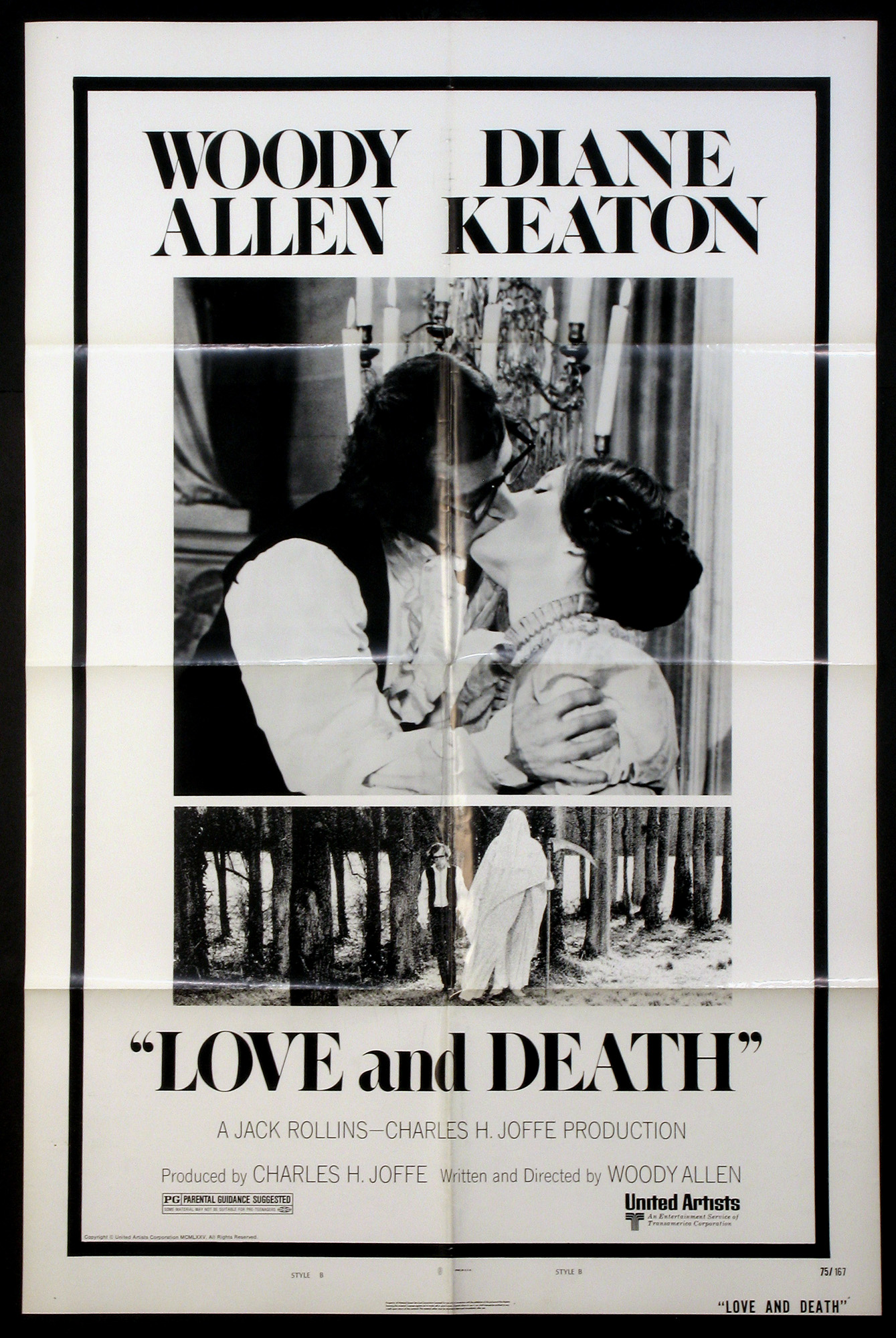 LOVE AND DEATH @ FilmPosters.com