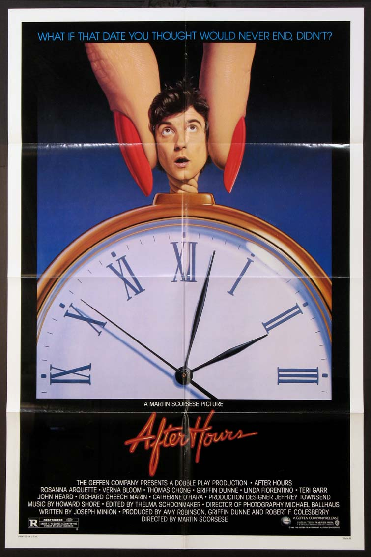 AFTER HOURS @ FilmPosters.com