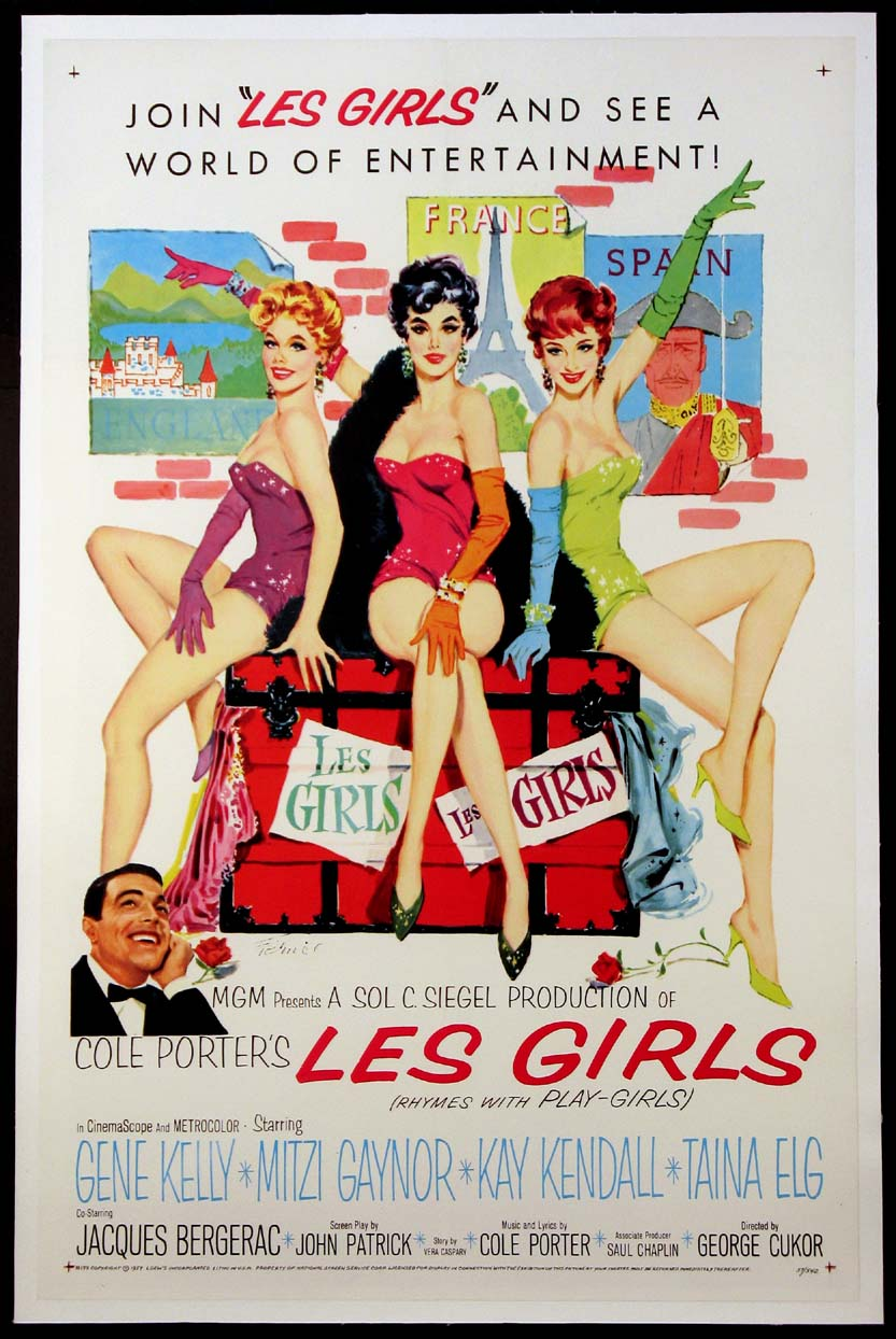 LES GIRLS @ FilmPosters.com