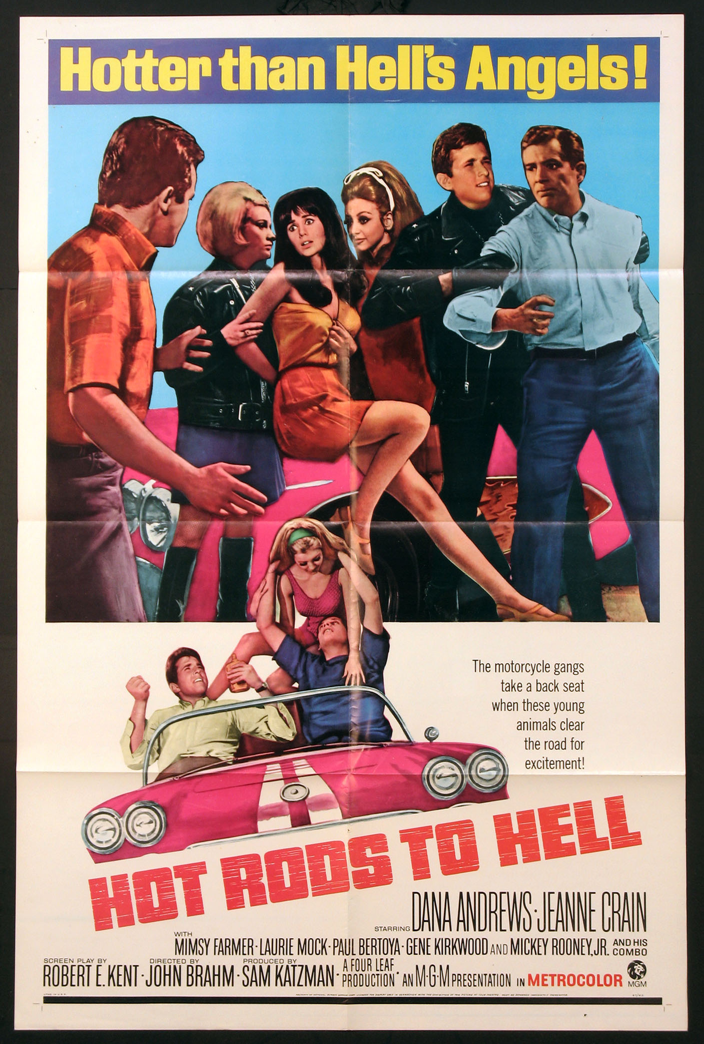 HOT RODS TO HELL @ FilmPosters.com