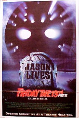 FRIDAY THE 13TH PART 6: JASON LIVES(Thirteenth) @ FilmPosters.com