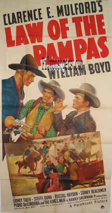 LAW OF THE PAMPAS @ FilmPosters.com