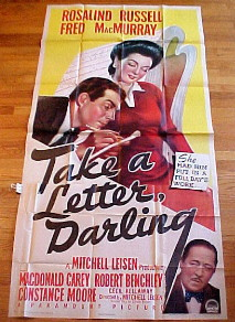 TAKE A LETTER DARLING @ FilmPosters.com