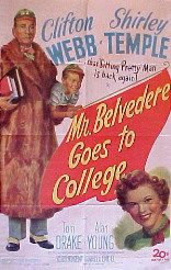 MR. BELVEDERE GOES TO COLLEGE @ FilmPosters.com