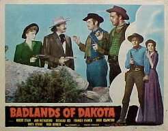 BADLANDS OF DAKOTA @ FilmPosters.com
