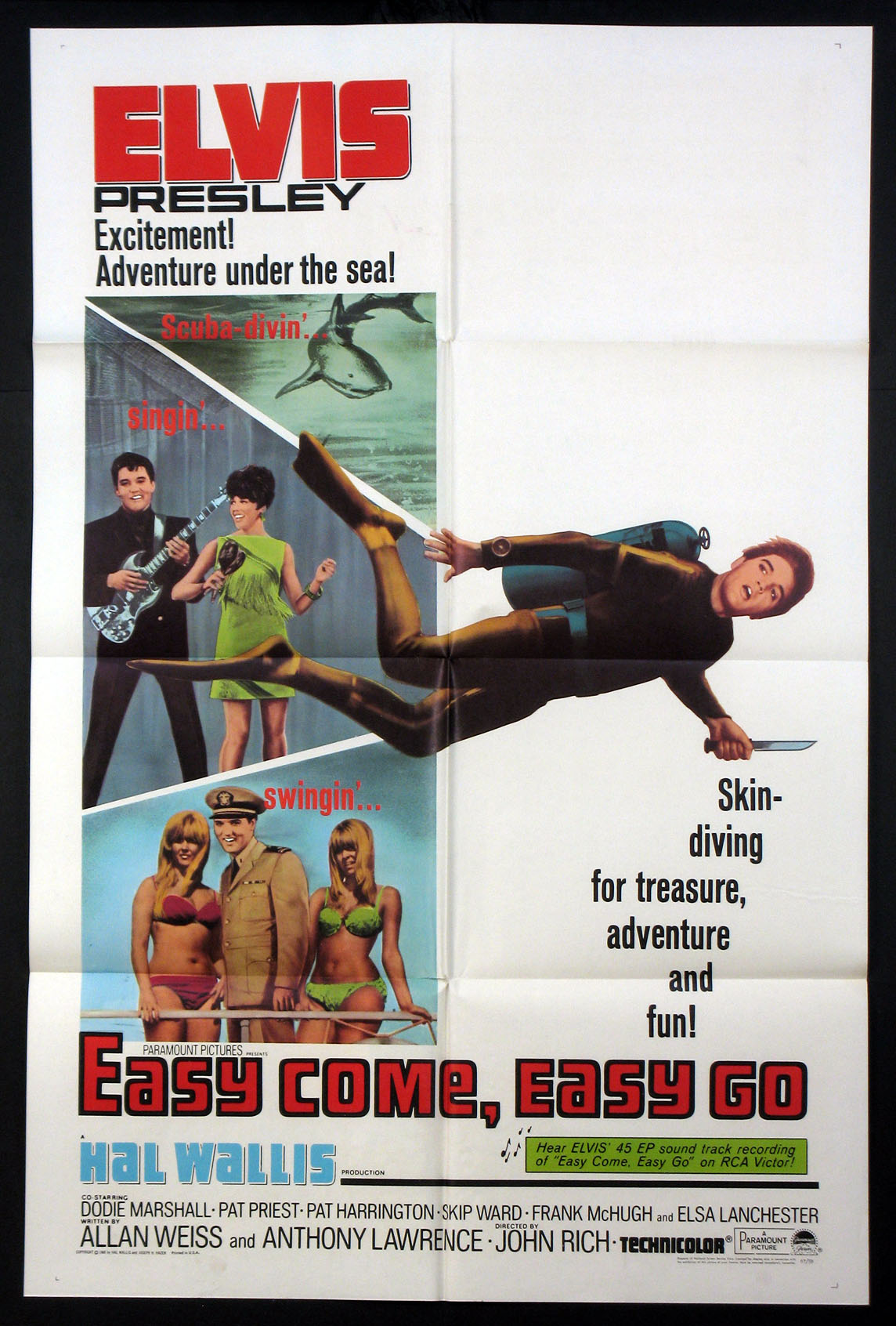 EASY COME, EASY GO (Easy Come Easy Go) @ FilmPosters.com