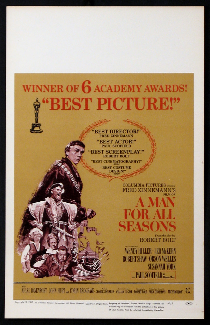 MAN FOR ALL SEASONS, A @ FilmPosters.com
