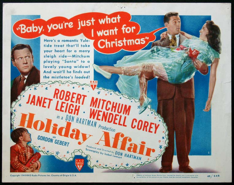 HOLIDAY AFFAIR @ FilmPosters.com