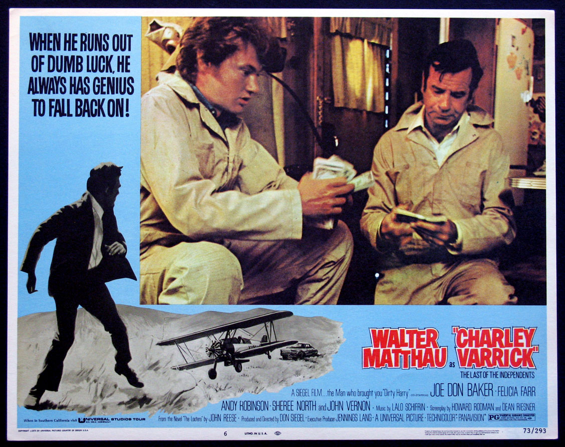 CHARLEY VARRICK @ FilmPosters.com