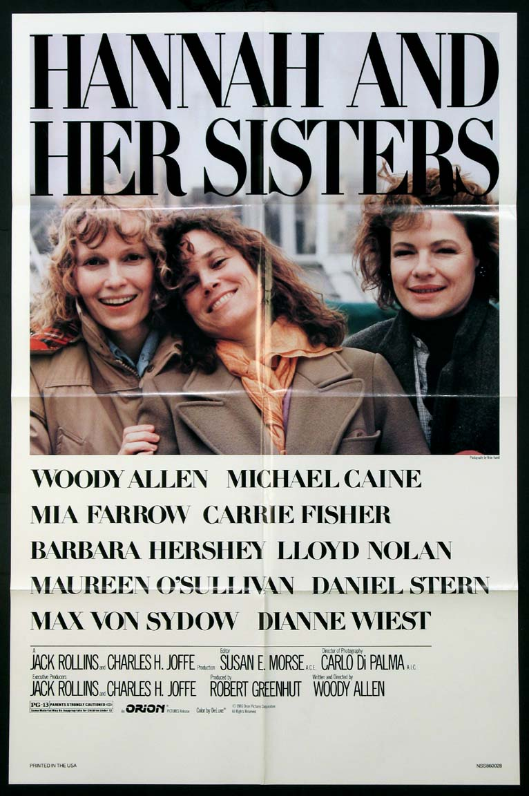 HANNAH AND HER SISTERS @ FilmPosters.com