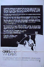 CRIES AND WHISPERS @ FilmPosters.com