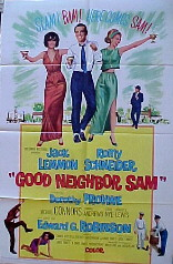 GOOD NEIGHBOR SAM @ FilmPosters.com