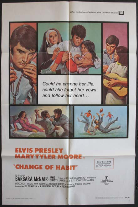 CHANGE OF HABIT @ FilmPosters.com
