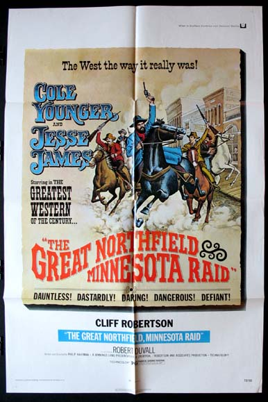 GREAT NORTHFIELD MINNESOTA RAID @ FilmPosters.com