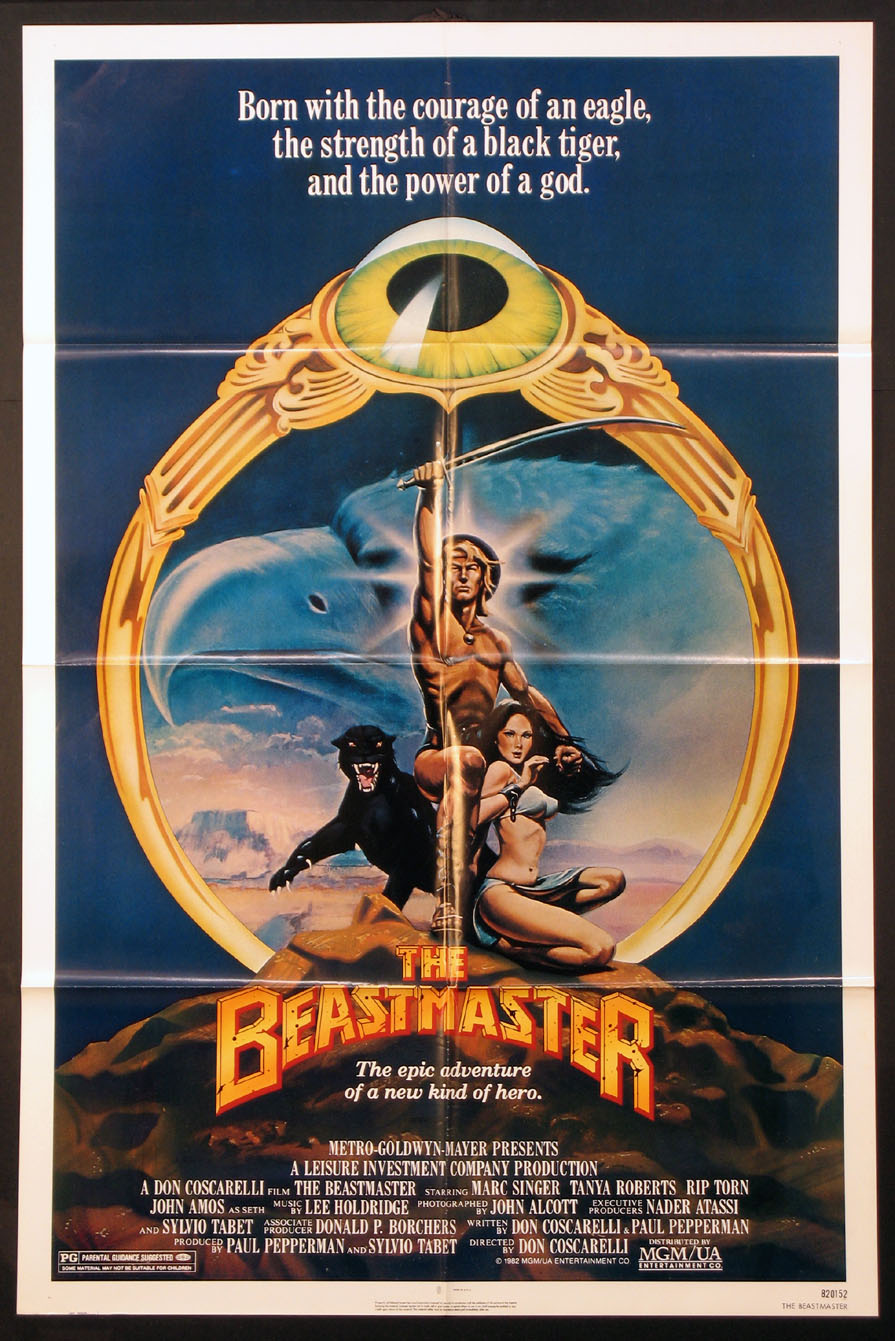 BEASTMASTER @ FilmPosters.com