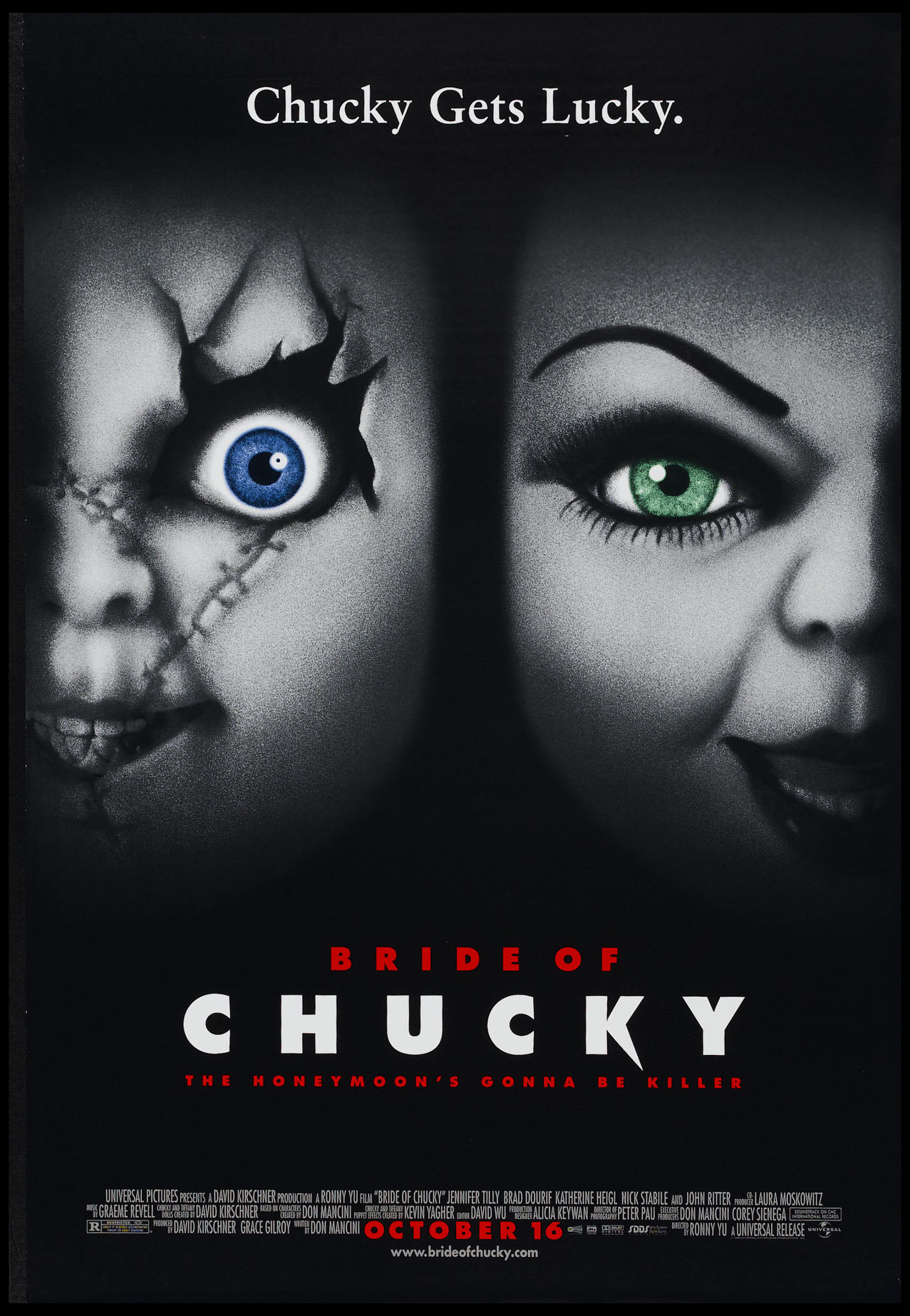 BRIDE OF CHUCKY (Child's Play series) @ FilmPosters.com