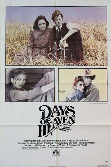 DAYS OF HEAVEN @ FilmPosters.com