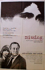 MISSING @ FilmPosters.com