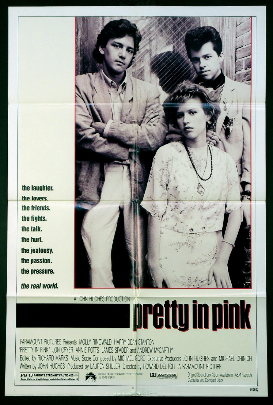 PRETTY IN PINK @ FilmPosters.com