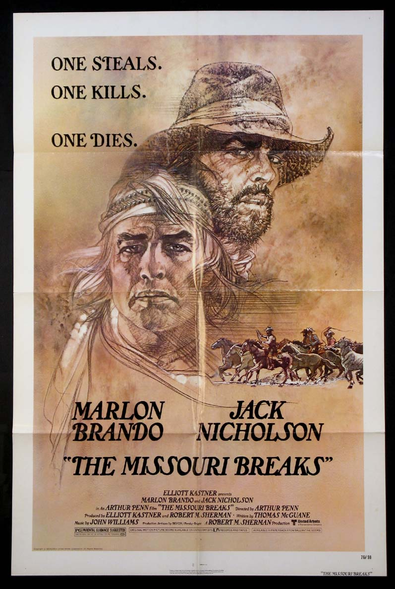 MISSOURI BREAKS, THE @ FilmPosters.com