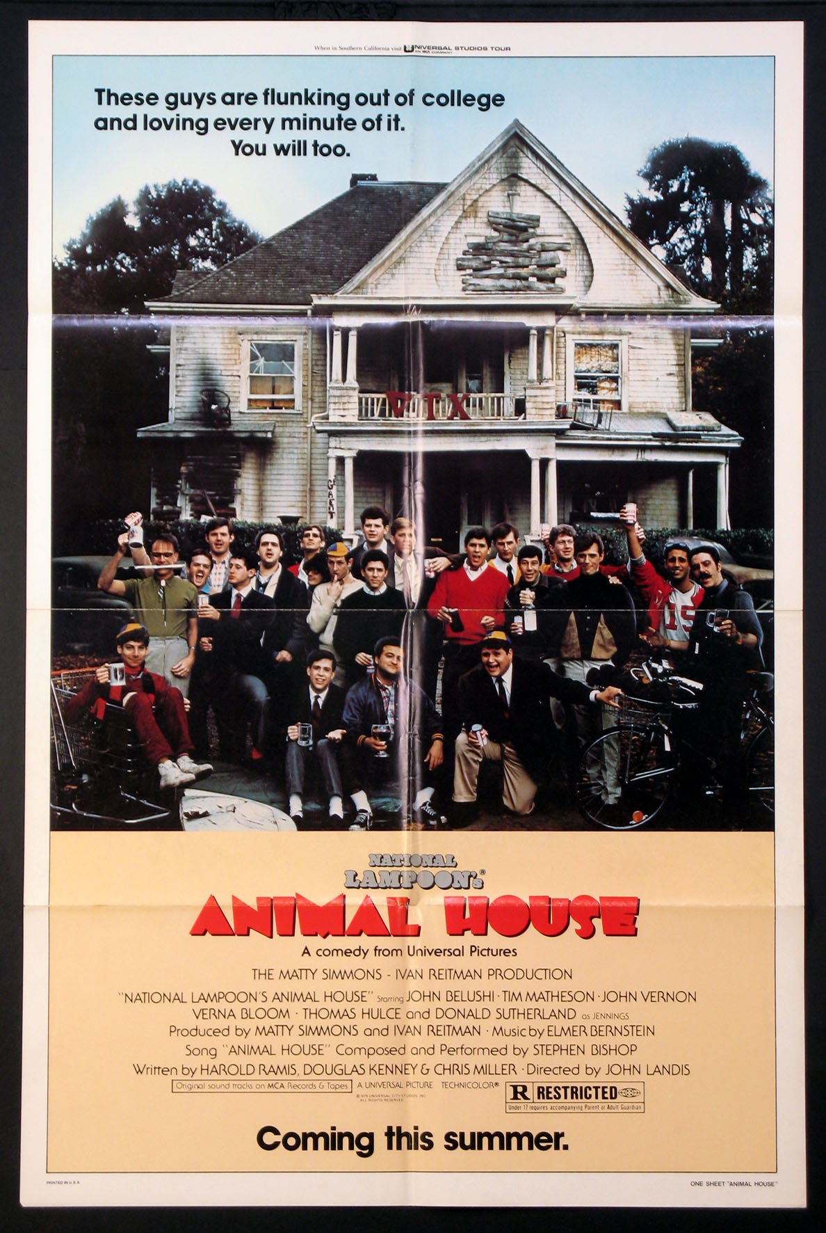 ANIMAL HOUSE, National Lampoon's @ FilmPosters.com