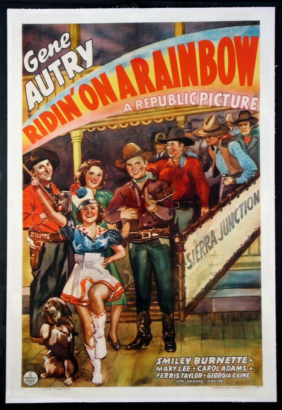RIDIN' ON A RAINBOW @ FilmPosters.com