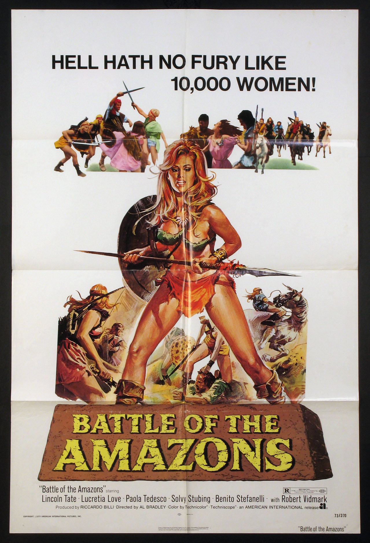 BATTLE OF THE AMAZONS @ FilmPosters.com