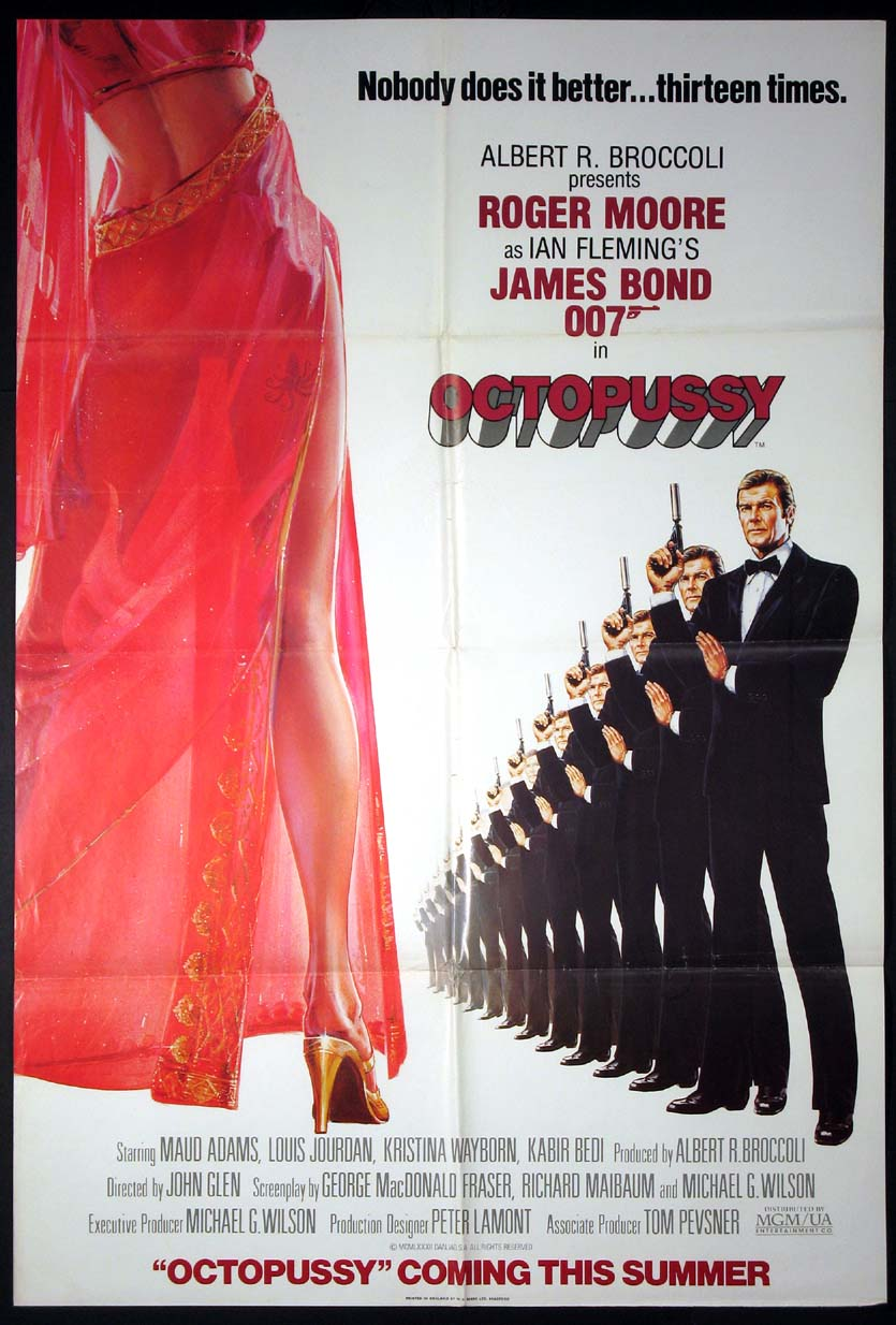 OCTOPUSSY (James Bond) @ FilmPosters.com