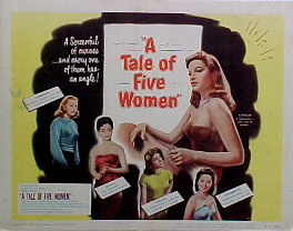 TALE OF FIVE WOMEN @ FilmPosters.com