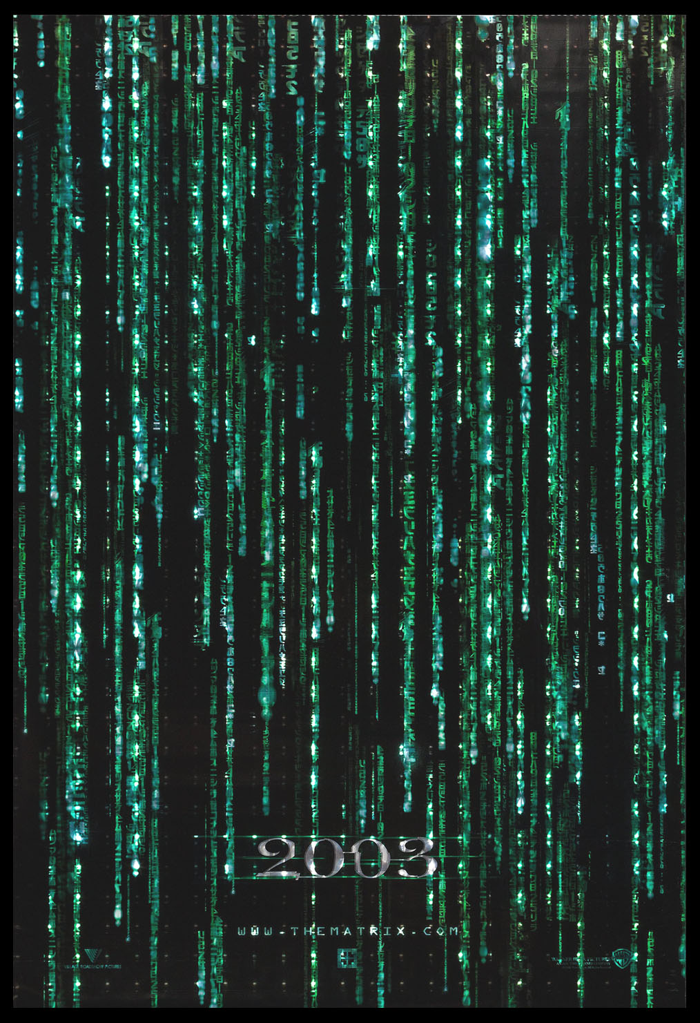 MATRIX RELOADED, THE @ FilmPosters.com