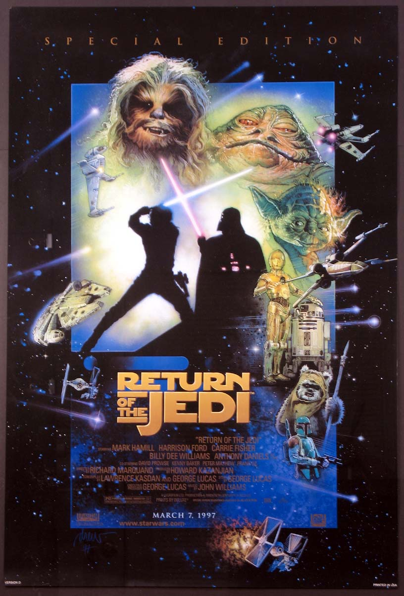 RETURN OF THE JEDI - Star Wars @ FilmPosters.com
