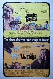 DEADLY BEES / VULTURE @ FilmPosters.com