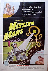 MISSION MARS @ FilmPosters.com