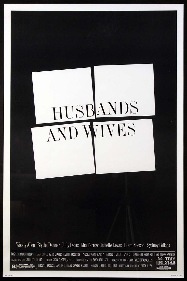 HUSBANDS AND WIVES @ FilmPosters.com
